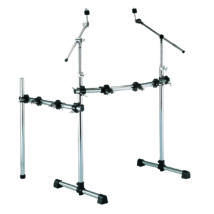 PEACE DR-17 - Standard drum rack with T style leg system and additional side arm