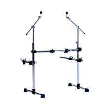 PEACE DR-18 - Drum rack with T style leg system and two side arms