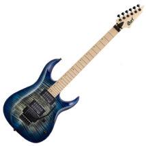 Cort X300-BLB el.gitár, EMG PU, kék burst + ajándék hangológép