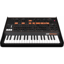 KORG ARPODYSSEY,Duofónikus analóg szintetizátor, 37 slim billentyű, 2VCO, fekete szín, narancs feliratok