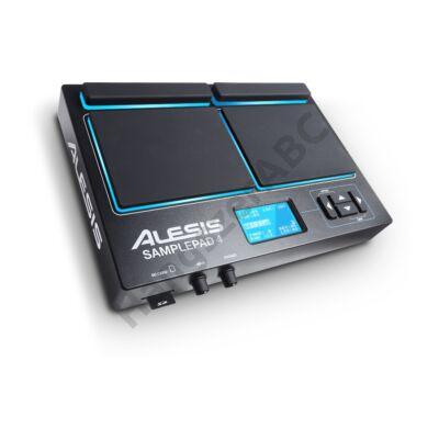 Alesis SamplePad 4 hangszer, dobgép, 4 pad, SD kártya, 2 trigger, USB MIDI