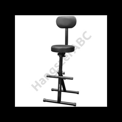 Voice-Kraft KB007 Lábtartós szék, háttámlával