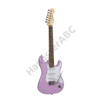 SOUNDSATION RIDER-JR PK - 3/4 Double Cutaway elektromos gitár 3 Single Coil pickuppel