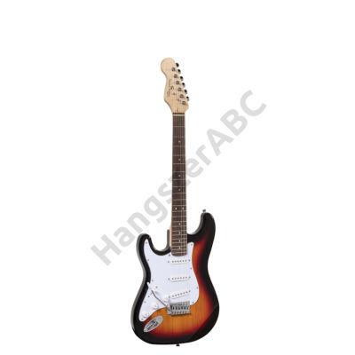 SOUNDSATION RIDER-STD-SLH 3TS - Balkezes Double Cutaway elektromos gitár 3 Single Coil pickuppel