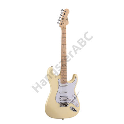 SOUNDSATION RIDER-PRO-MSH VW - Double cutaway electric guitar with 2 single coils + splittable humbucker and self-locking tuners (Wilkinson equipped, maple fretboard)