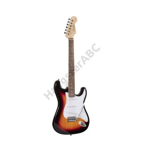RIDER-STD-S 3TS - Double Cutaway elektromos gitár 3 Single Coil pickuppel
