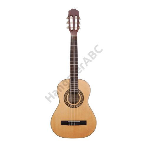 TC401 - 1/2-es klasszikus gitár fenyő fedlappal