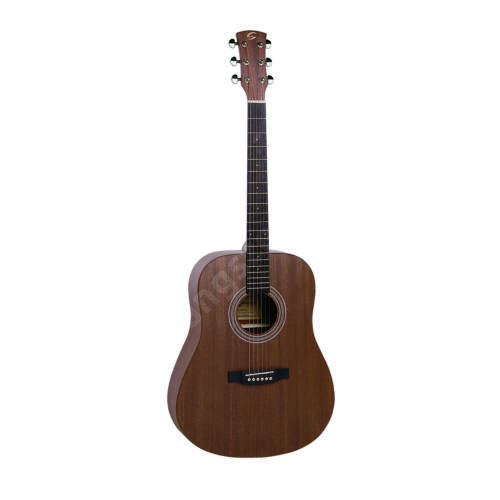 ZION-DN-M - Dreadnought akusztikus gitár nyitott pórusú szatén felülettel