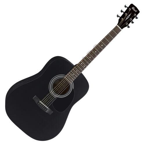 Cort AD810-BKS akusztikus gitár, matt fekete + ajándék hangológép