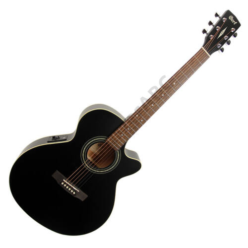 Cort SFX-ME-BKS akusztikus gitár EQ-val, matt fekete