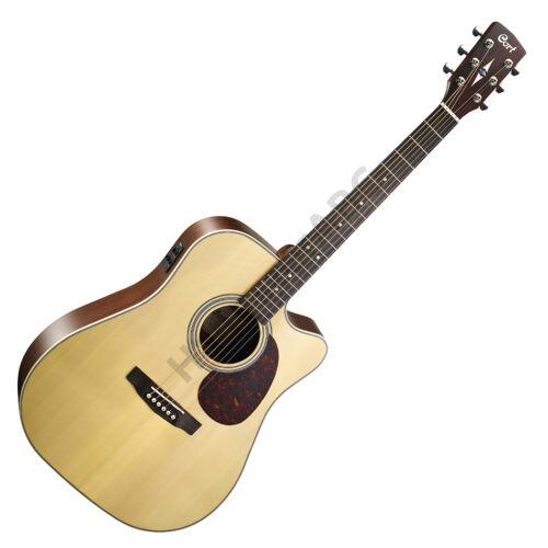 Cort MR600F-NAT akusztikus gitár Fishman elektronikával, natúr + ajándék hangológép