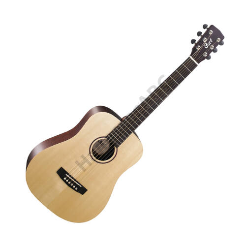 Cort EarthMiniF AD with bag mini akusztikus gitár, natúr