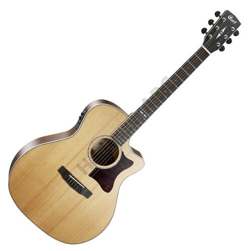 Cort GA5F-BW-NS akusztikus gitár Fishman EQ, matt natúr + ajándék hangológép