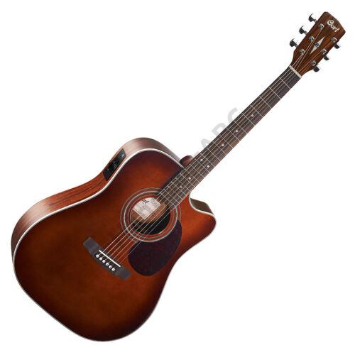 Cort MR500E-BR akusztikus gitár elektronikával, barna