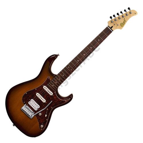 Cort G260DX-TAB elektromos gitár, tobacco burst + ajándék hangológép