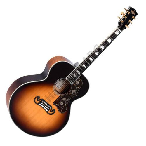 Sigma akusztikus gitár elektronikával, sunburst