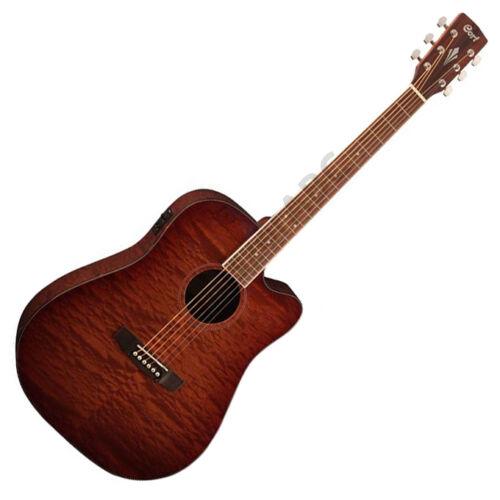 Cort AD890MBCF-NAT akusztikus gitár elektronikával, natúr