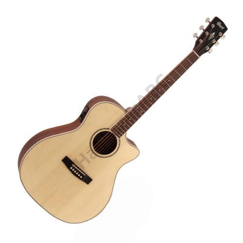 Cort GA-MEDX-OP akusztikus gitár elektronikával, natúr + ajándék hangológép
