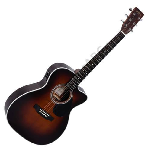 Sigma OMTC-1STE-SB Plus akusztikus gitár elektronikával, sunburst