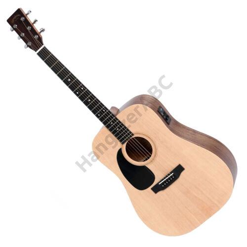 Sigma akusztikus gitár elektronikával, balkezes