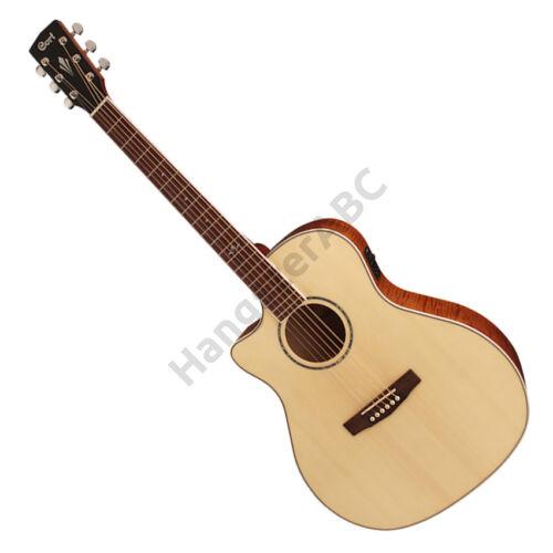 Cort GA-FF-LH-NAT akusztikus gitár elektronikával, natúr, balkezes + ajándék hangológép