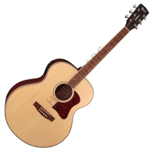 Cort CJ-MEDX-NAT akusztikus gitár elektronikával, natúr + ajándék hangológép