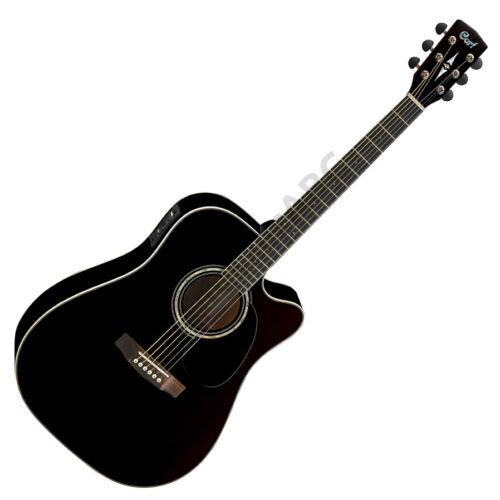 Cort MR710F-BK akusztikus gitár Fishman el-val, fekete + ajándék hangológép