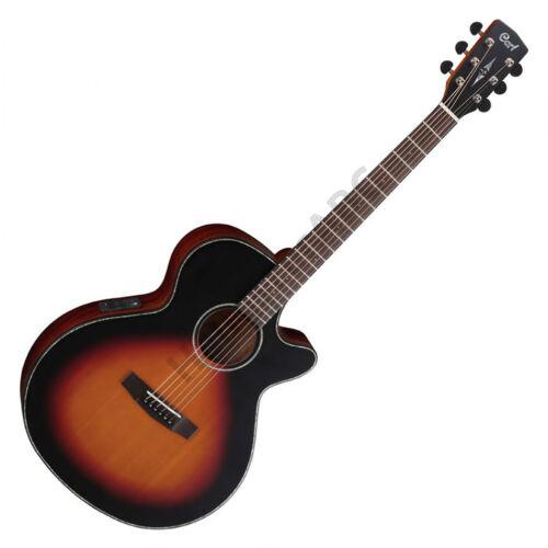 Cort SFX-E-3TSS akusztikus gitár elektronikával, matt sunburst + ajándék hangológép