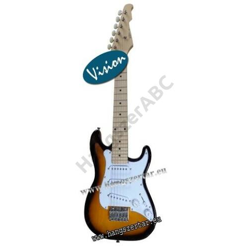 Vision EK-1 1/2-es méretű elektromos gitár