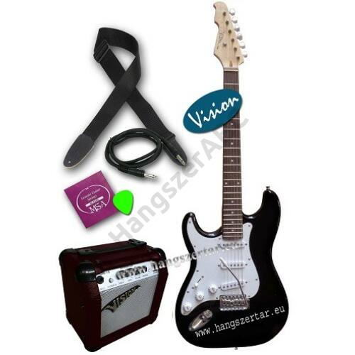 Vision ST-5 LH BK balkezes elektromos gitár szett 4