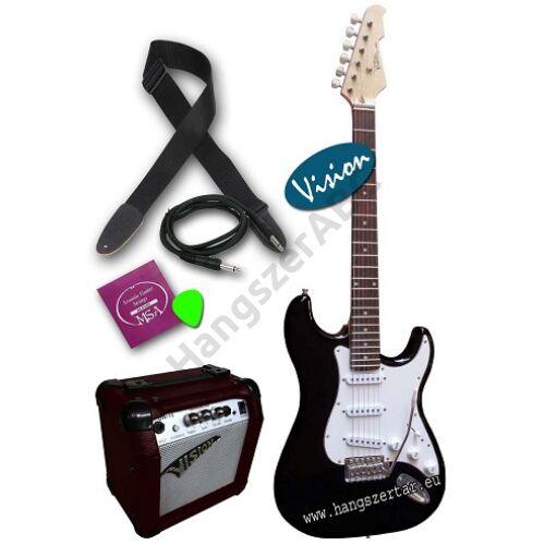 Vision ST-5 BK elektromos gitár pack 4