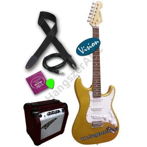 Vision ST-5 G elektromos gitár szett 4
