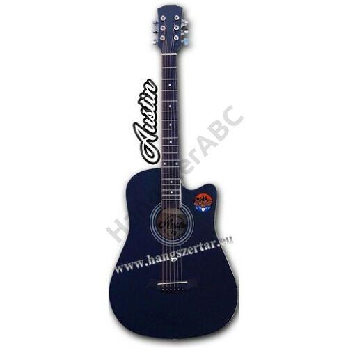 AUSTIN AW-38 BK, 3/4-es cutaway akusztikus gitár