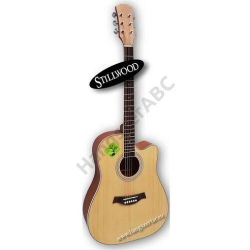 Stillwood SWN-550, 4/4-es akusztikus gitár
