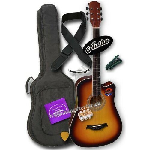 Austin AW-38 SB 3/4-es akusztikus gitár szett 2