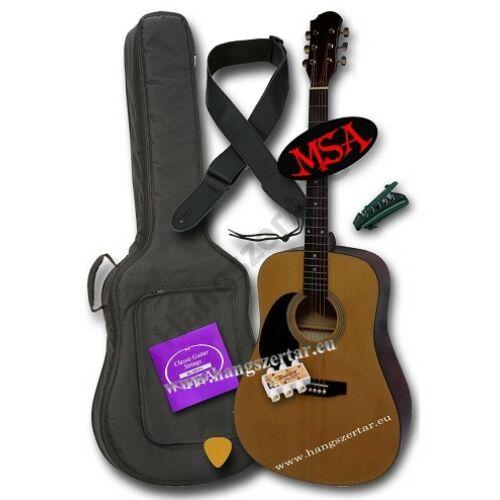 MSA CW-200 L balkezes akusztikus gitár szett 2