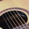 Kép 5/5 - OLYMPIC-DNCE-NT - Dreadnought Cutaway akusztikus gitár nyílt porusú szatén felülettel Fishman előerősítővel