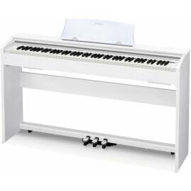 Casio - PX-770 WE digitális zongora állvánnyal fehér