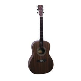 ZION-OOO-M - OOO akusztikus gitár nyitott pórusú szatén felülettel