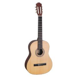 TC980MT - 4/4-es szatén klasszikus gitár tömör sitka fenyő fedlappal