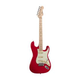 RIDER-RETRO-M FR - Double cutaway elektromos gitár 3 single coil pickuppel és vintage kulcsokkal (Wilkinson mechanika, juharfa fogólap)
