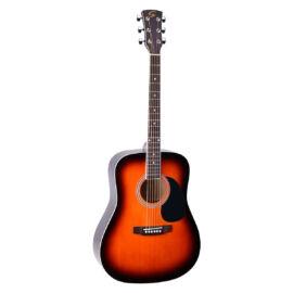 YELLOWSTONE-DN-SB - Dreadnought akusztikus gitár fenyő fedlappal