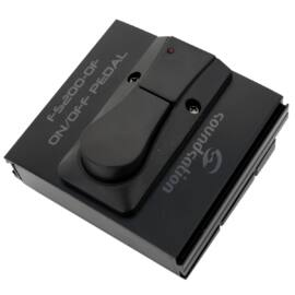 FS200-OF - Ki/Be kapcsoló pedál gitárosoknak, LED kijelzővel