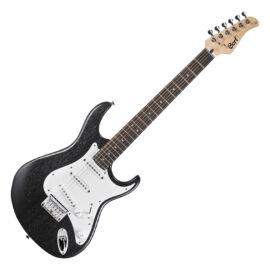 Cort G100-OPB el.gitár, open pore fekete