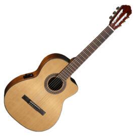 Cort AC120CE-OP klasszikus gitár elektronikával, matt natúr