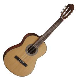 Cort AC70-OP with bag klasszikus gitár, 3/4-es, matt natúr, tokkal + Választható ajándék