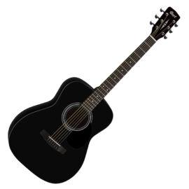 Cort AF510-BKS akusztikus folkgitár, matt fekete