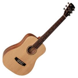 Cort ADMini-OP with bag akusztikus mini gitár, matt natúr, tokkal