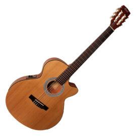 Cort CEC-1-OP klasszikus gitár elektronikával, matt natúr