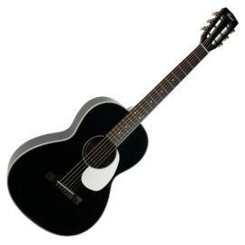 Cort L100P-F-BK akusztikus gitár elektronikával, Parlor, fekete